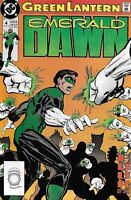 Green Lantern Comic Issue 4 Emerald Dawn Copper Age First Print 1990 Giffen DC