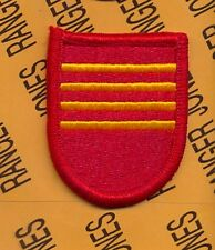 4th Bn 319th Field Artillery Regt. 82nd Airborne beret flash patch m/e
