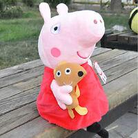 2017 New Peppa Pig Stuffed Soft Figures Toy Plush Doll 19CM/7.5inch Kids Gift