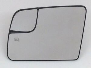 2011-2013 Ford Transit Connect Driver power heated Side View Mirror Glass OEM