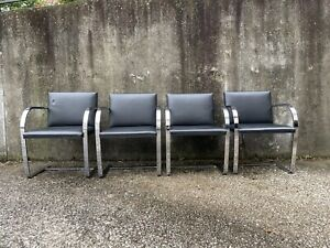 Vintage BRNO Chairs by Ludwig Mies Van der Rohe, Knoll
