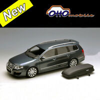 OTTO 1:18 Scale Volkswagen Passat R36 Variant (B6) Gray Car Model Collection NEW
