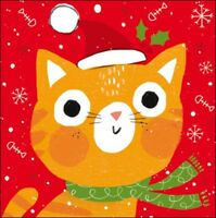 Pack of 5 Festive Cat RNLI Lifeboats Charity Christmas Cards Cello Packs