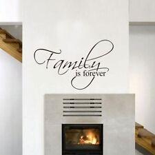 Family is forever Wandtattoo Wallpaper Wand Schmuck 45 x 27 cm Wandbild