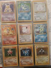 ⭐  POKEMON ⭐ SET BASE RARE E HOLO, SCEGLI (no fossil, jungle, rocket,) #BSHR