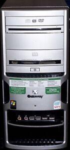 Gateway GT5042 Pentium D 2.8GHz Dual Core CPU - 2GB RAM - 200GB HD - Win 8.1 Pro