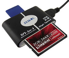Lector-Concentrador (Hub) USB