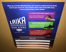 LAIKA EXPERIENCE comic con SDCC 2017 nike shoes ENTRY FORM (contest is over)