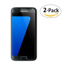 For Samsung Galaxy S7 Premium 2-Pack Tempered Glasses Screen Protector FILM 2.5D