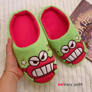 Crayon Shin-chan crocodile FUZZY  indoor slippers shoes slipper   X'mas  gift