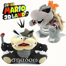 Super Mario Bros. Morton Koopa Jr & Dry Bowser Bones Koopa Plush Stuffed Doll US