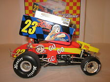 KASEY KAHNE SPEED RACER DIRT WORLD OF OUTLAWS 1:18 SPRINT CAR GMP DIECAST R&R