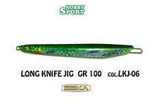 VERTICAL JIG  KNIFE SEIKA 100 GR  COL. VERDE LKJ - 06