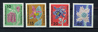 ALEMANIA/RFA WEST GERMANY 1963 MNH SC.857/860 Flora and Philately
