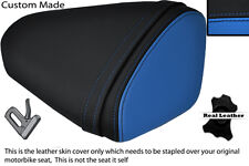 BLACK & BLUE CUSTOM FITS KAWASAKI 08-10 ZX10 R NINJA 1000 REAR SEAT COVER