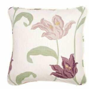 """SPECIAL OFFER -  KINSALE - PAIR OF CUSHION COVERS - FLORAL 18""""x18"""" FREE POSTAGE"""
