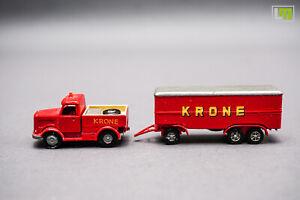 1:160 - LKW mit Anhänger Zirkus Krone //2K_789