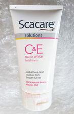 Scacare Solutions C+E Nano White Facial Foam Deep Clean Moisture Rich Firm 100g