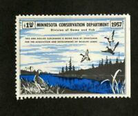 US Stamps # A1 Minnesota $1 Ducks VF Unused W/O Gum Scott Value $85.00