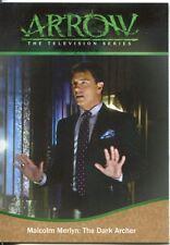 Arrow Season 1 Bronze Parallel Base Card #90 Malcolm Merlyn: The Dark Archer