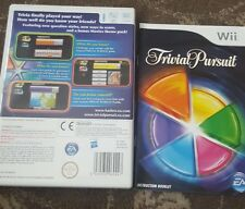 TRIVIAL PURSUIT  NINTENDO WII FAMILY BOARD GAME