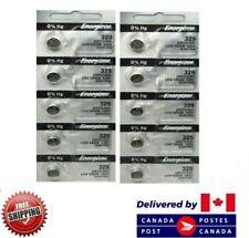 0% Mercury Sr713Sw 329 Cdn Seller 10 Pcs Energizer 329 Watch Batteries