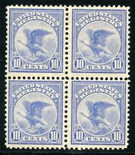 UNITED STATES SC# F1 MINT NEVER HINGED BLOCK OF FOUR REGISTRY AS SHOWN MOR