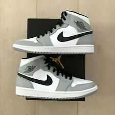 Nike Air Jordan 1 Mid Light Smoke Grey NEU DSWT (554724 092)