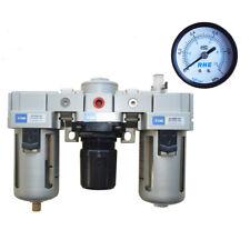 Intbuying 12 Air Compressor Filter Regulator Control Moisture Oil Lubricator