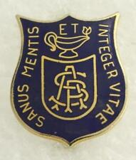 Vintage Student Jr ROTC Pin St. Paul Military Academy SOUND OF MIND WHOLLY ALIVE