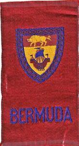 BERMUDA  - 1910 EGYPTIENNE LUXURY cigarette TOBACCO  silk