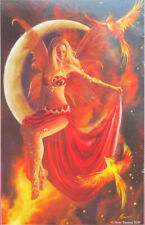 SunsOut Nene Thomas Fire Moon 1000 pc Panorama Jigsaw Puzzle Gothic Fantasy