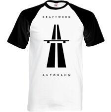 Hombre Kraftwerk Autobahn Camiseta, Elecro Música Top Unisex Autobarn Banda