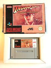 Indiana Jones Greatest Adventures en OVP cib-Super Nintendo SNES pal EUR