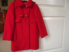 New with Tags Red  Coat by Next in Size 3 - 4 Years
