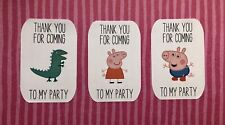 Peppa Pig Party Stickers x 18