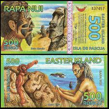 Easter Island 500 Rongo, 2012, Polymer, UNC