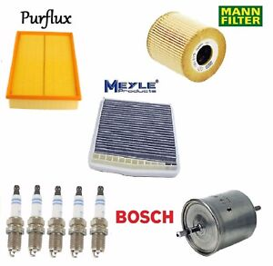 Tune Up KIT Spark Plugs & Filters for Volvo S60 2001-2003