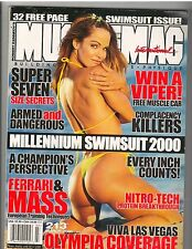 MUSCLEMAG bodybuilding muscle SWIMSUIT magazine/AMY FADHLI 3-00 #213