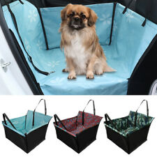 Car Seat Cover for Dogs Back Seat Single SUV Oxford Hammock Travel Protection
