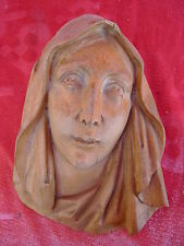 pretty,old wood relief_madonna ( Mary)_Tyrol_