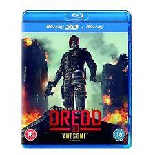 Dredd 3d 2d Blu-ray UK BLURAY