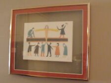 Jessie OONARK- INUIT ARTIST framed art card GIVER OF LIFE