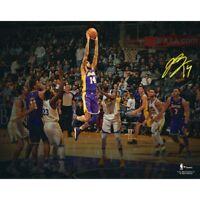 "BRANDON INGRAM Autographed Lakers Spotlight 11"" x 14"" Photograph FANATICS"