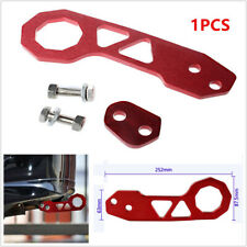 Car Racing Billet Aluminum Rear Tow Hook Fit For Civic Crx Acura Integra Rsx Red