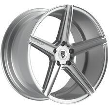 """Fondmetal 189S KV1 20x10.5 5x108 +33mm Silver Wheel Rim 20"""" Inch"""