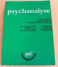 Alain de Mijolla - Psychanalyse - Assoun Cahn Golse Rabain Fine Vallet ... Livre
