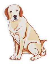 NEW GANZ DOG BLONDE YELLOW  LABRADOR RETRIEVER SCREEN DOOR SAVER