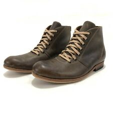 Sitrana Mens Boots Brown Full Grain Leather Hand Made Chile Ankle Euro 39 US 6.5