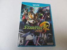 STARFOX ZERO new factory sealed Nintendo Wii U game Star Fox 0, global shipping